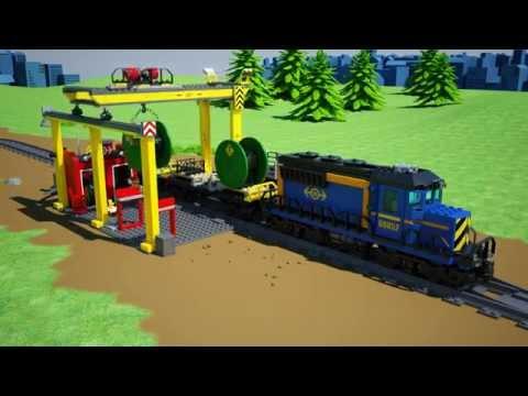 LEGO City Güterzug 60052