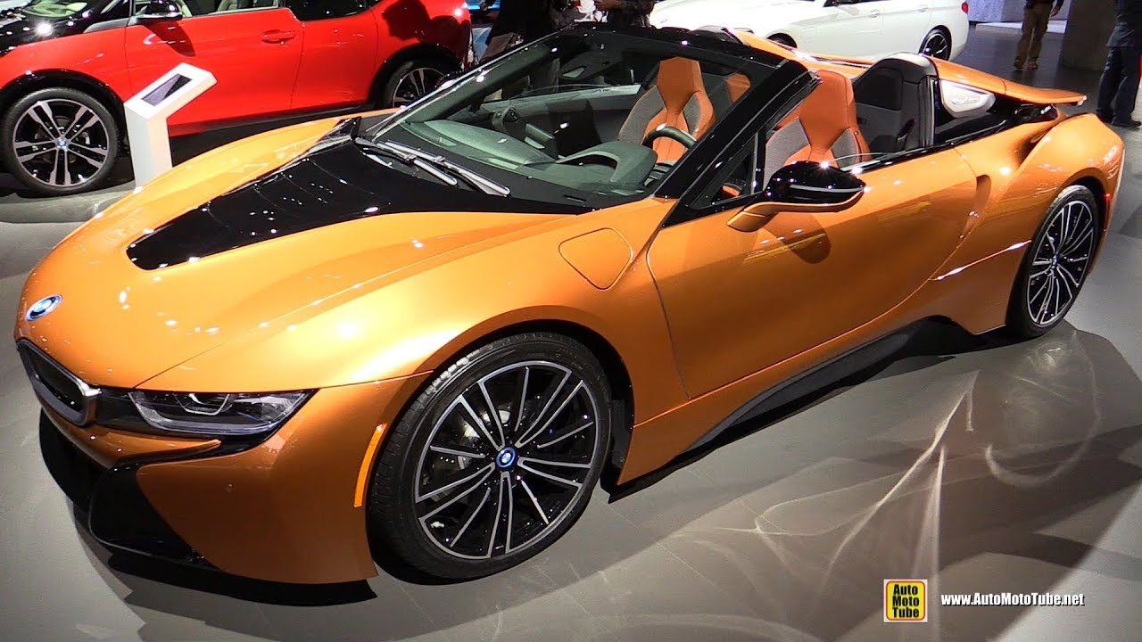 2018 Bmw I8 Roadster Exterior And Interior Walkaround 2017 La