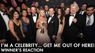 I'm A Celebrity win best Challenge Show // Watch Ant & Dec's reactions