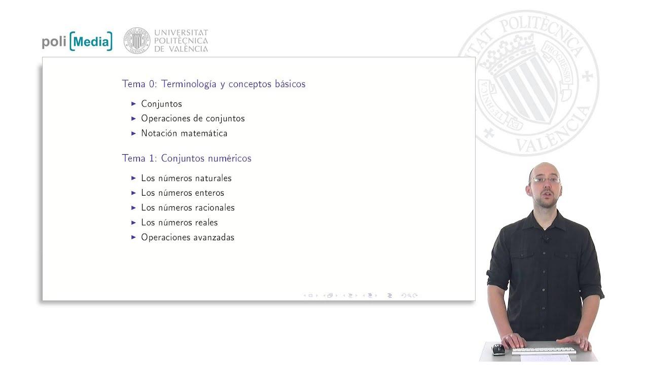 Bases Matemáticas: Números y terminología | UPValenciaX on edX ...