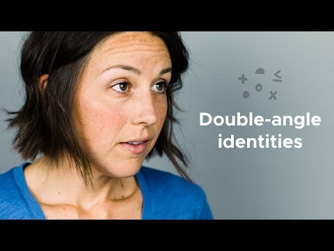 How to prove equations using double-angle identities