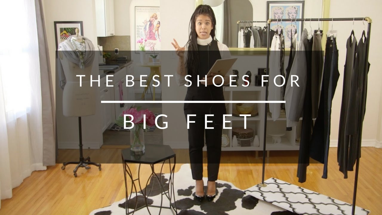 The Best Flat Shoes For Big Feet - YouTube