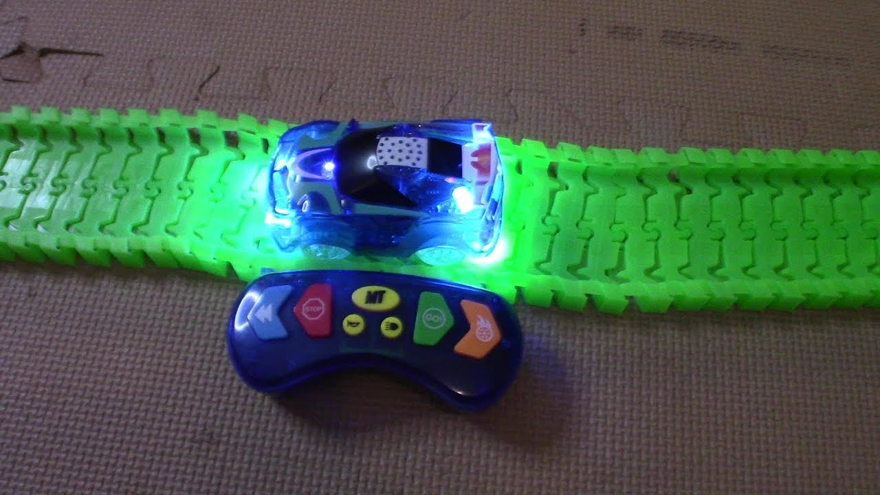 Magic Tracks Turbo Rc Racing Review And Pretend Play Youtube