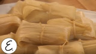 Authentic Chicken and Green Chile Tamales - Get Cooking, Guys! - Emeril Lagasse