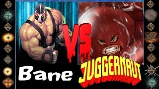 Bane (D.C. Comics) vs Juggernaut (Marvel Comics) - Ultimate Mugen Fight 2015