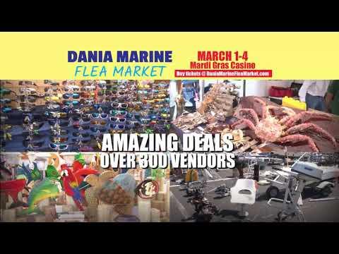 Dania Marine Flea Market - 2018