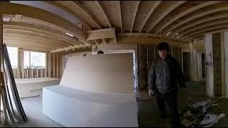 담양30평-단열재,내부합판,석고작업(360도 동영상)-…