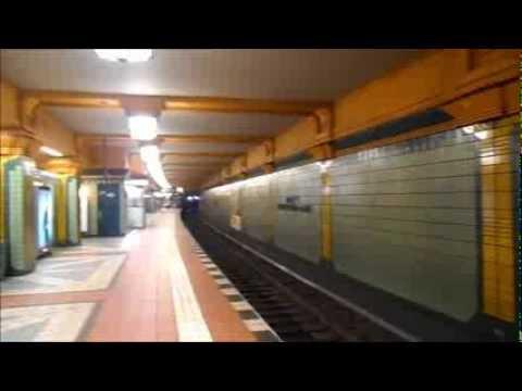 U-Bahn Berlin - U-Bahnhof Wittenau U8