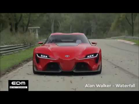 Alan Walker - Waterfall || Fast and Furious version || EDM music