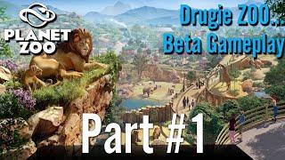 Beta GamePlay - Planet ZOO (Drugie Zoo...) Part #1
