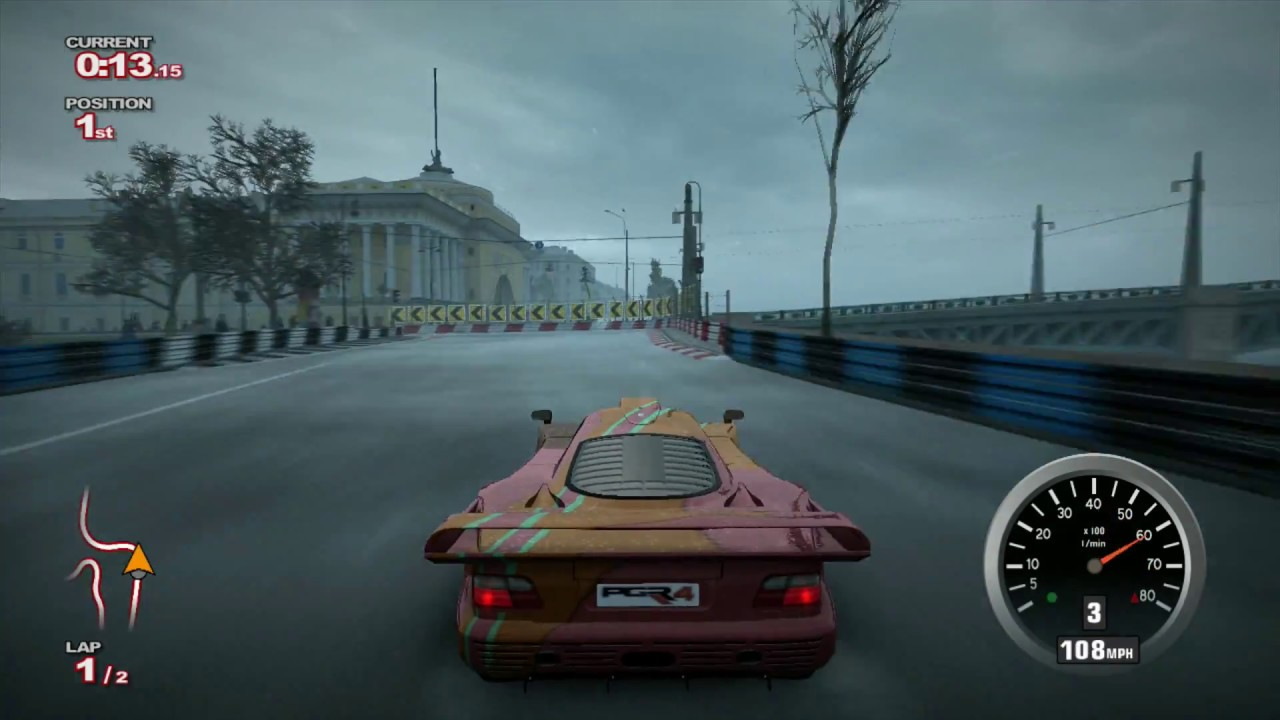 Project gotham racing 4 pgr4 mercedes benz clk gtr car for Mercedes benz car racing games