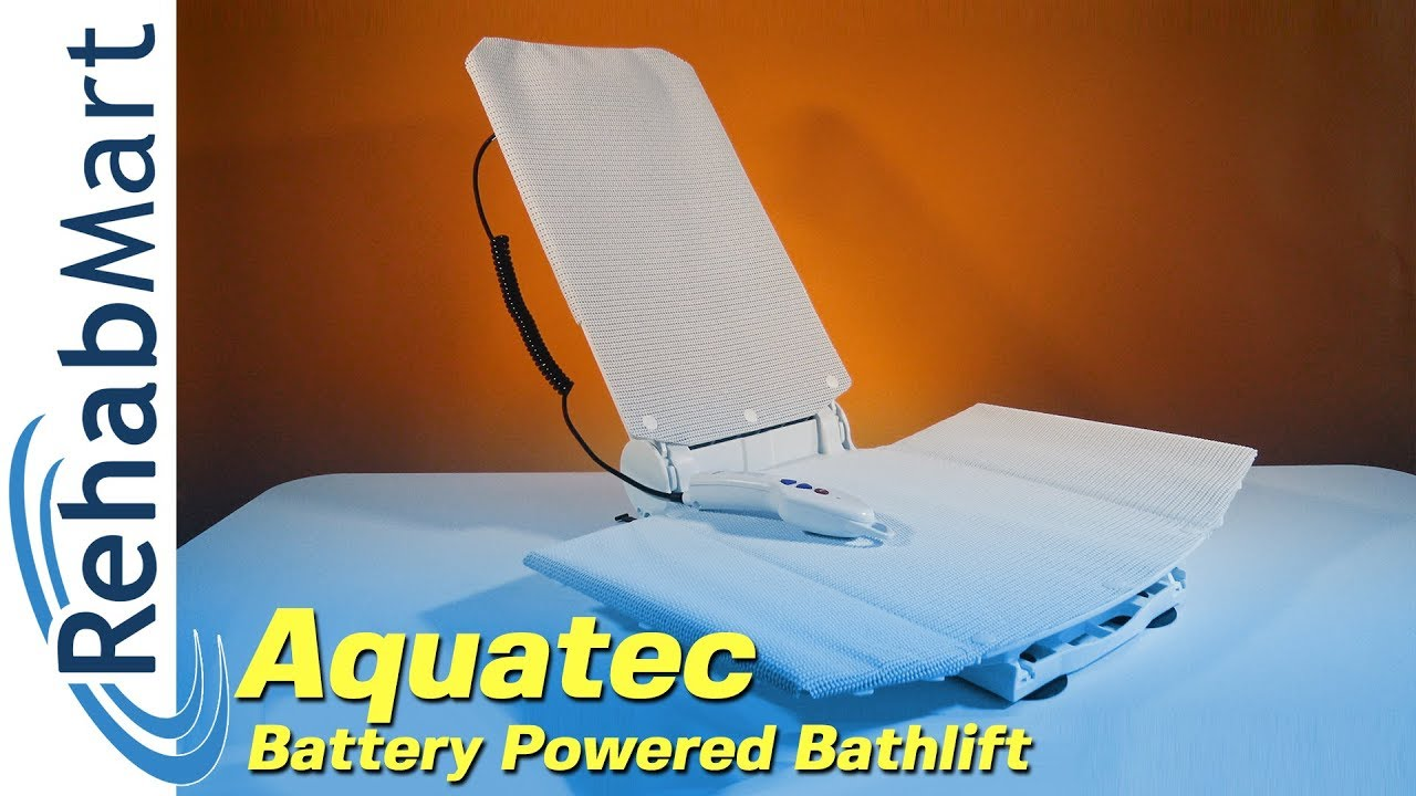 The Gold Standard in Bathlifts - Aquatec Battery Powered Bath Lift ...