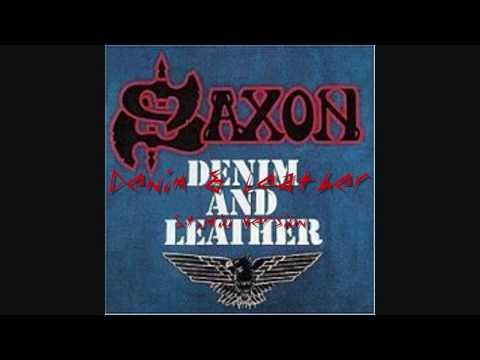 Denim and Leather-Saxon (studio version)