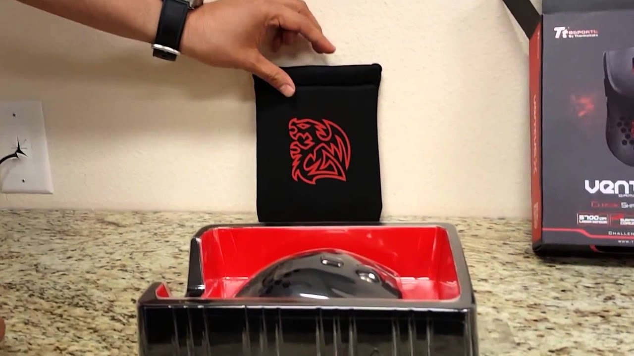 Unboxing VENTUS X Gaming mouse - TTesports - YouTube
