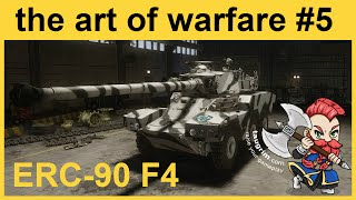 "Armored Warfare: ERC-90 F4 Review / Guide, Epic 6.3k Damage Gameplay [""The Art of Warfare"" Epi 5]"