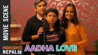 रिचा शर्माको Birthday | New Nepali AADHA LOVE Scene | Reecha Sharma
