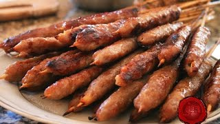 Jn - How to Roll Nem Nuong (Shrimp & Pork Paste Skewers) HD