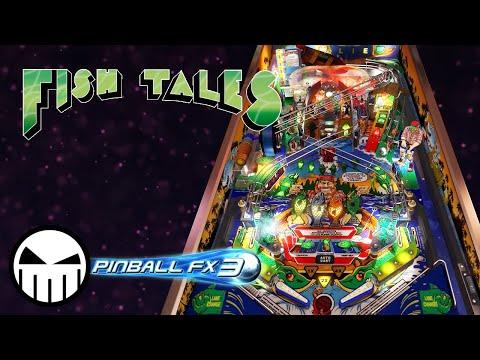 Williams Pinball: Fish Tales (Pinball FX3 Steam) - Crow Pinball
