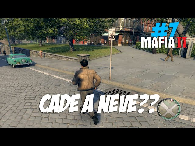 Mafia 2 #7 - Cade A Neve?? (60fps Pt-br)?