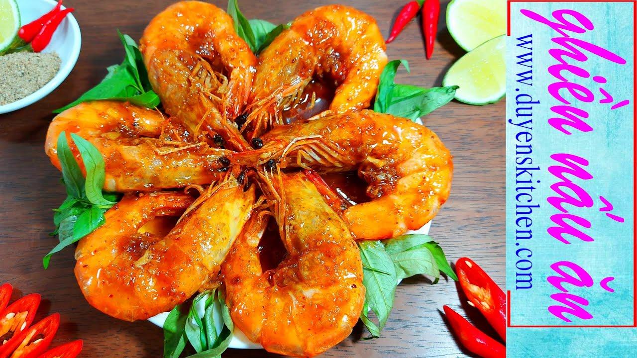 Cách Làm Tôm Rang Me Giòn Vỏ Thấm Thịt By Duyen's Kitchen | Ghiền nấu ăn