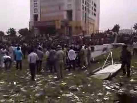Shastri Park Air Craft landing.......