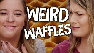 7 Foods Made In a Waffle Iron (Cheat Day)