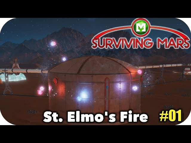 ▶Surviving Mars◀ Mysteries Resupply - St. Elmo's Fire Ep01