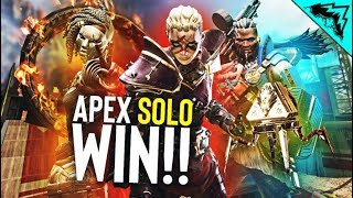 DOMINATING Apex Legends *NEW* SOLO mode!!