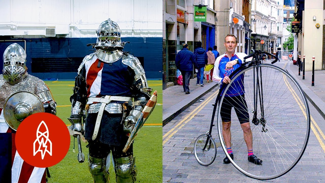 From Penny Farthings to Medieval Combat: Giving Old Sports New Life