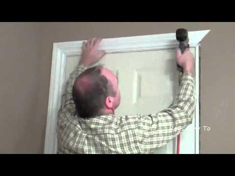 How-to Install Door Casing Video