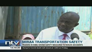 Embu miraa traders devise safety measures to reduce accidents