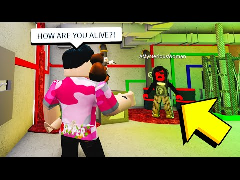 EVIL LADY Broke Into My House.. Why She Did It Will SCARE You! (Roblox)