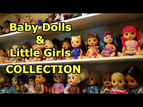 BABY ALIVE Collection Tour, Baby Alive Dolls, Barbies, Lol Surprise Dolls