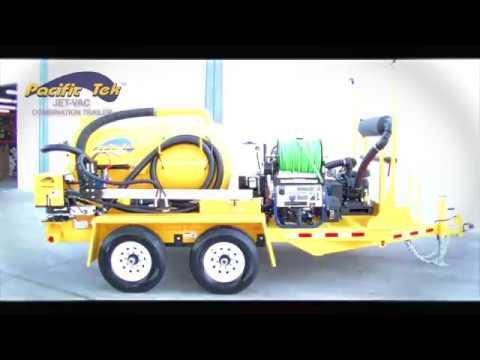 Jet Vac Combination Trailer Operations Video