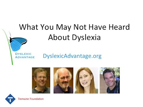 Thumbnail: Dyslexic Advantage - What You May Not Have Heard About Dyslexia