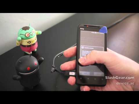 HTC EVO Design 4G Hands-on and Unboxing