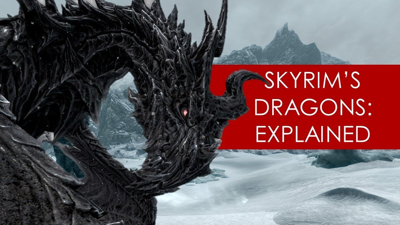 Dragon origins in Skyrim? THEORY [ Alduin l Akatosh l Elder Scrolls l Skyrim ]