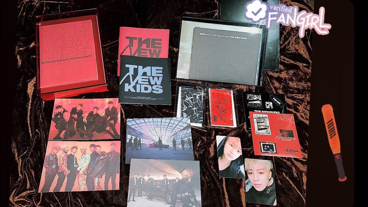 UNBOXING iKON - THE NEW KIDS: REPACKAGE ALBUM