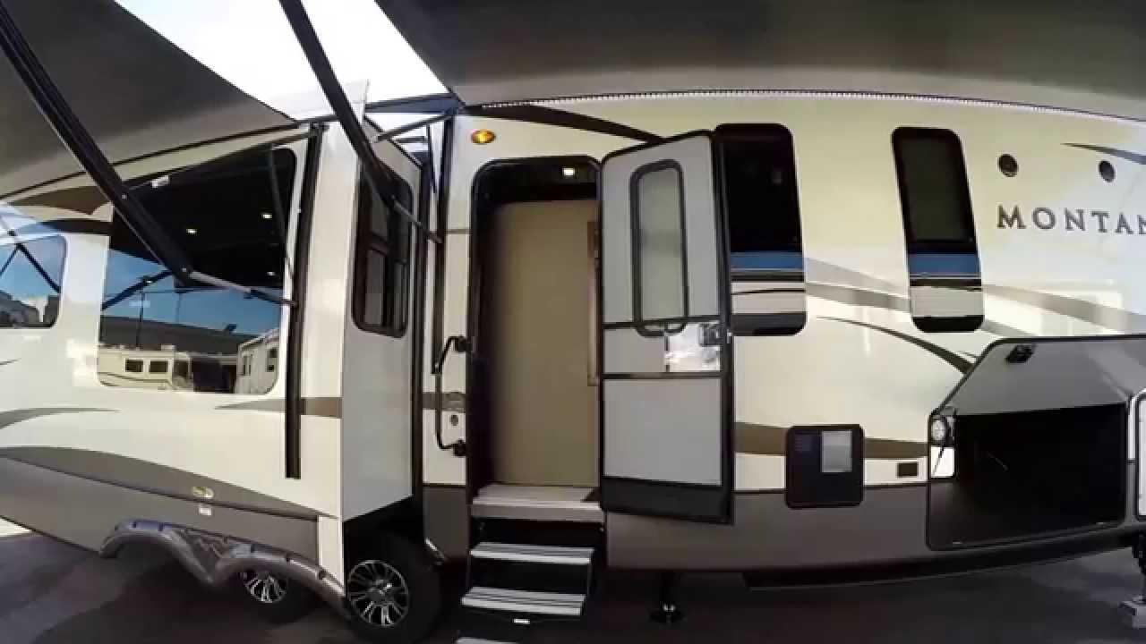 Luxury Fifth Wheel >> 2016 Keystone Montana 3950BR Bunk House Luxury Fifth Wheel - YouTube