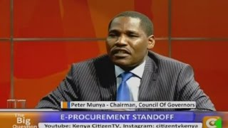 The Big Question Land Bills With Gov. Peter Munya