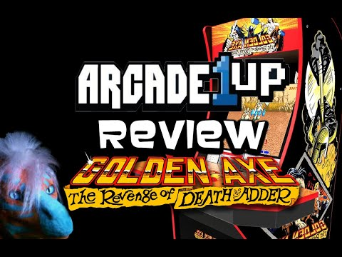 Golden Axe Arcade1up Review from Dragon Gamer