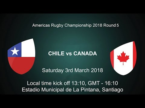 2018 Americas Rugby Championship - Chile v Canada