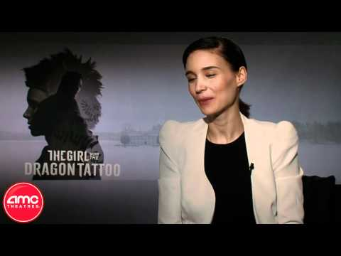 "Rooney Mara Talks ""The Girl With The Dragon Tattoo"" With AMC"