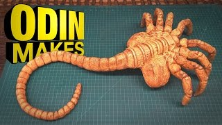 Odin Makes: Facehugger from Aliens