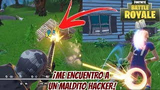 I'm a MALDITOR HACKER! - Fortnite Battle Royal