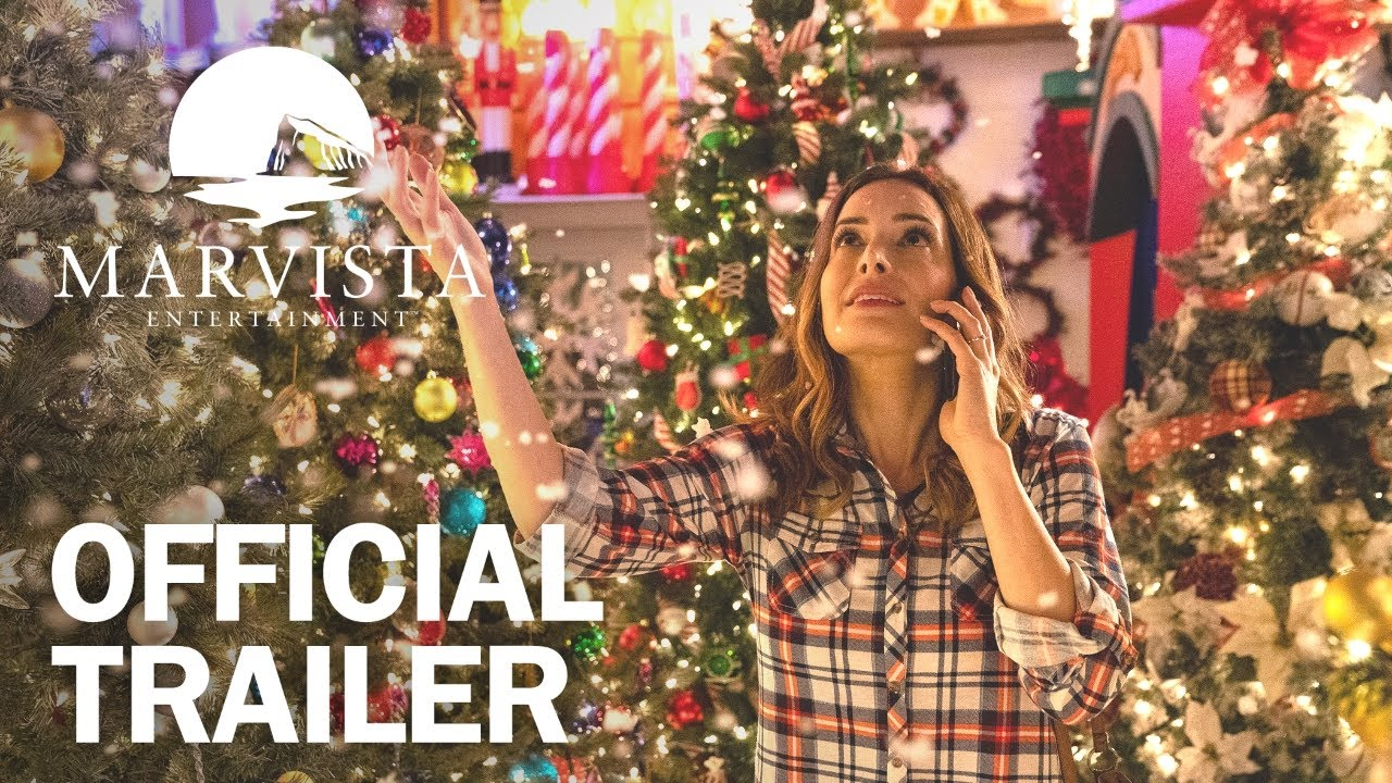 Cast Of A Christmas Kiss.A Christmas Switch Official Trailer Marvista Entertainment