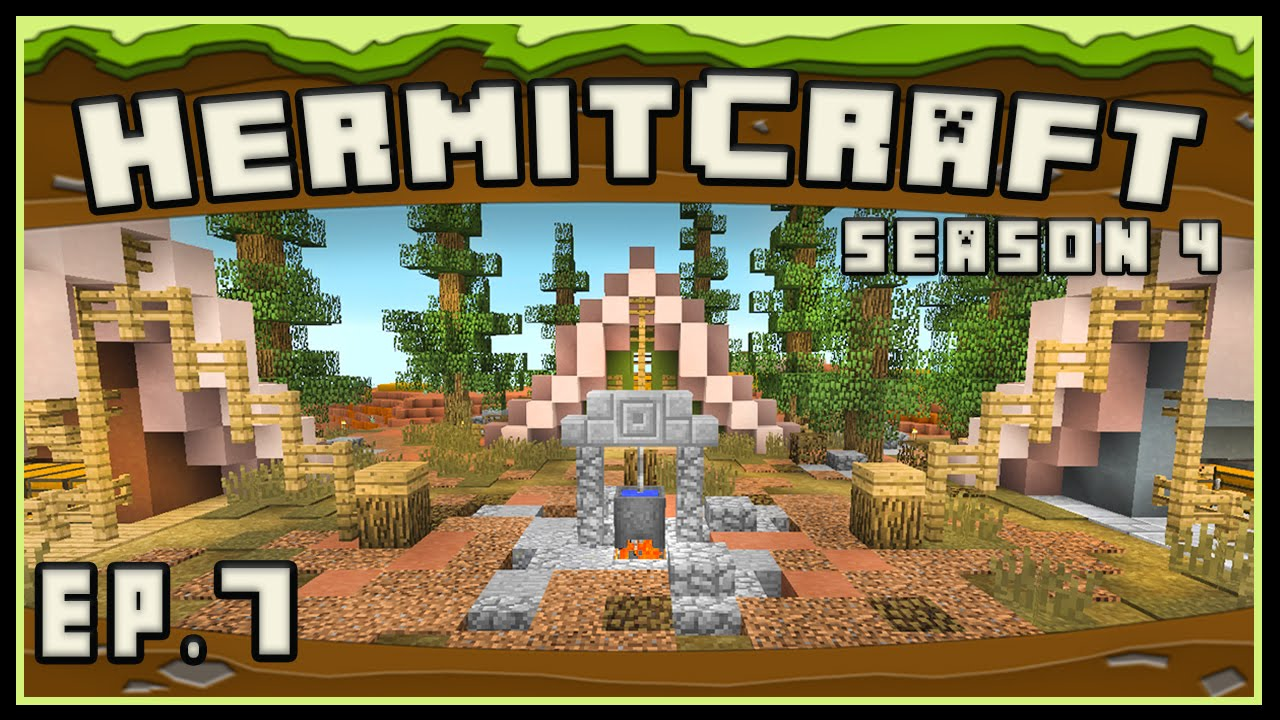 Hermitcraft 4 Minecraft Landscaping Design Ideas For A