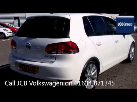 2012 Volkswagen Golf MATCH TDI 2l Candy White GF12UJA for sale at JCB VW Medway
