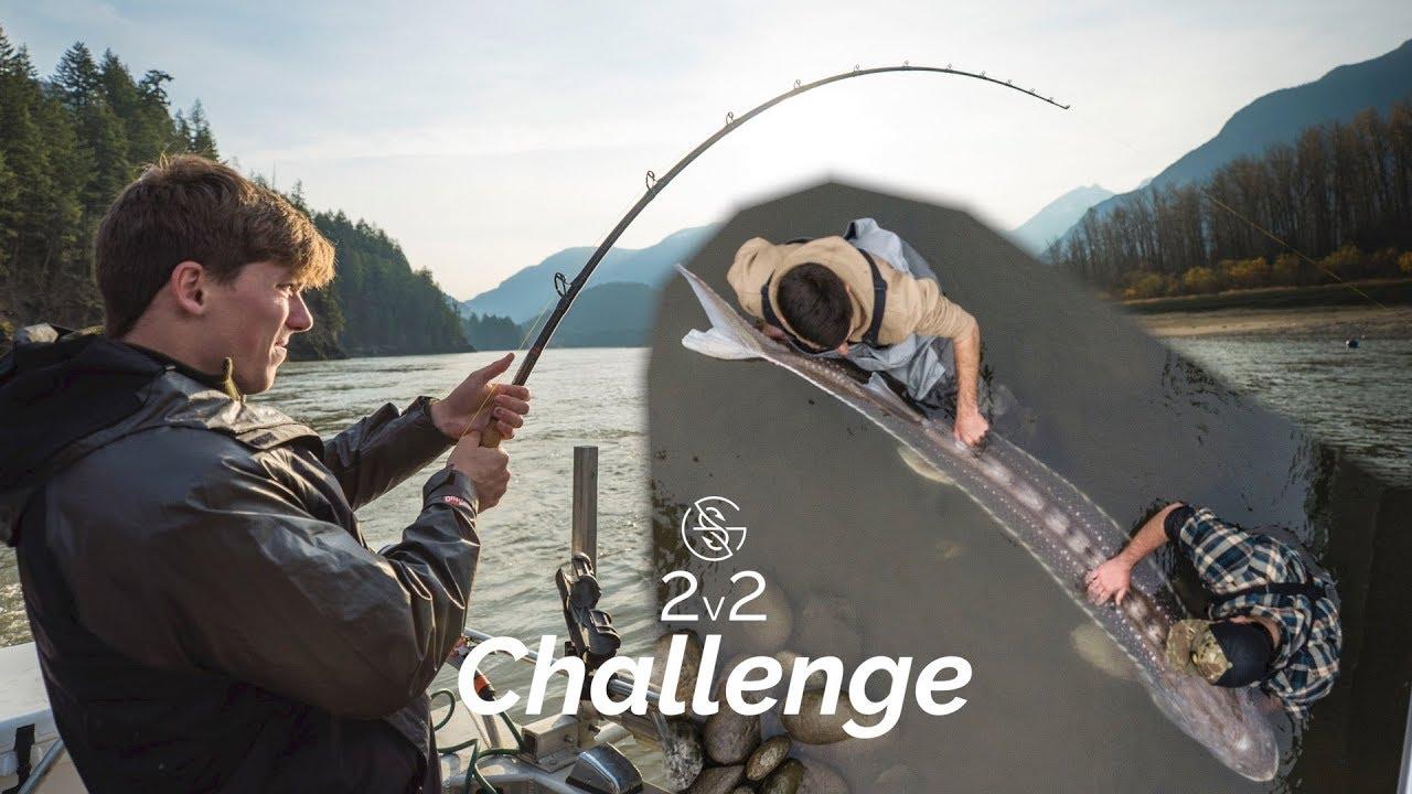 b68582594213e Googan MASSIVE FISH challenge! (2v2). Googan Squad