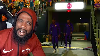 The Crowd Boo'd Me & Lebron! Lakers vs Pelicans MyCareer Ep 53